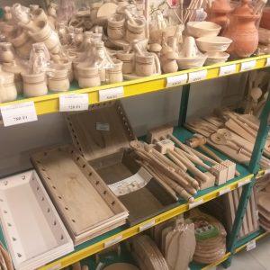 Erdélyi termékek, kerámia, fa